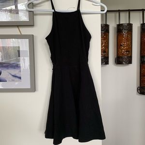 Cute black dress open on both side